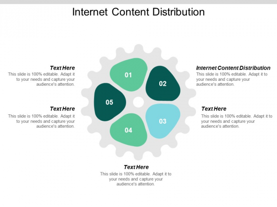Internet Content Distribution Ppt PowerPoint Presentation Summary Graphics Design Cpb