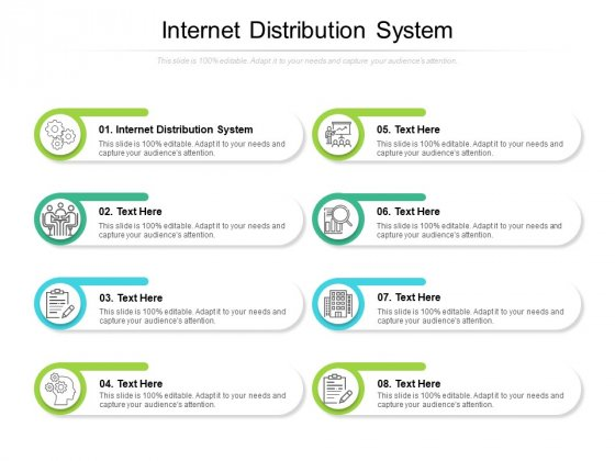 Internet Distribution System Ppt PowerPoint Presentation Icon Example Cpb
