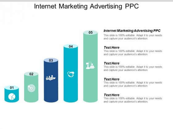 Internet Marketing Advertising PPC Ppt PowerPoint Presentation Styles Themes Cpb