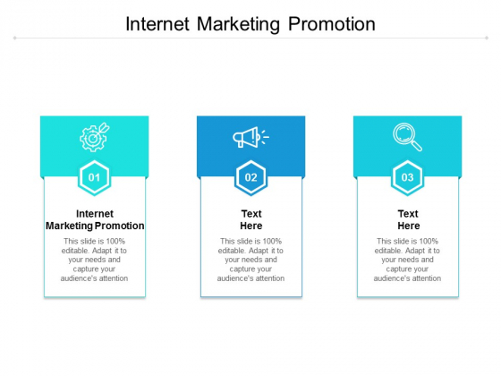 Internet Marketing Promotion Ppt PowerPoint Presentation Gallery Master Slide Cpb