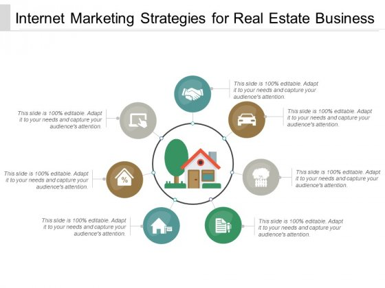 Internet Marketing Strategies For Real Estate Business Ppt PowerPoint Presentation Icon Template