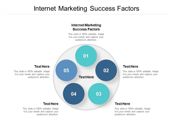 Internet Marketing Success Factors Ppt PowerPoint Presentation Gallery Design Inspiration Cpb