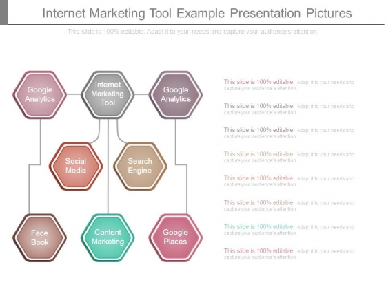 Internet Marketing Tool Example Presentation Pictures