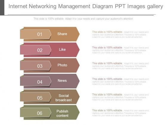 Internet Networking Management Diagram Ppt Images Gallery