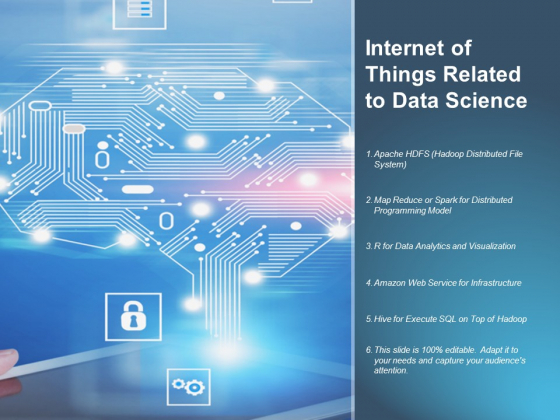 Internet Of Things Related To Data Science Ppt PowerPoint Presentation Gallery Ideas