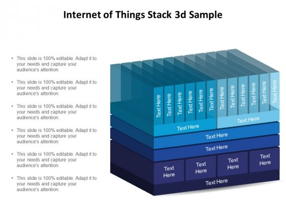 Internet Of Things Stack 3D Sample Ppt PowerPoint Presentation Inspiration PDF
