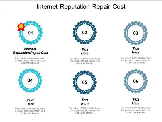 Internet Reputation Repair Cost Ppt PowerPoint Presentation Icon File Formats Cpb