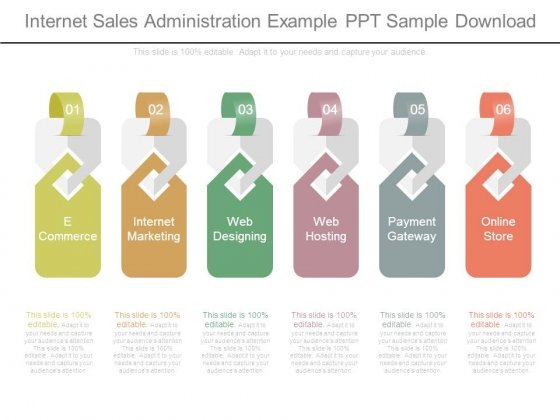 Internet Sales Administration Example Ppt Sample Download ...