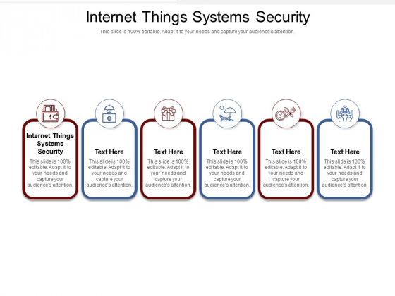Internet Things Systems Security Ppt PowerPoint Presentation Infographic Template Summary Cpb Pdf