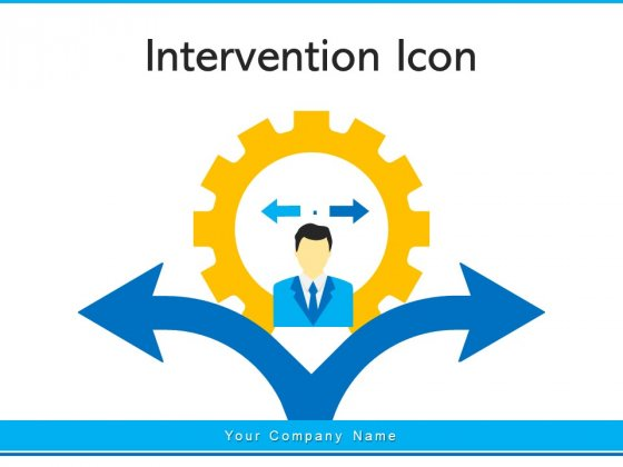 Intervention_Icon_Business_Discussion_Ppt_PowerPoint_Presentation_Complete_Deck_Slide_1