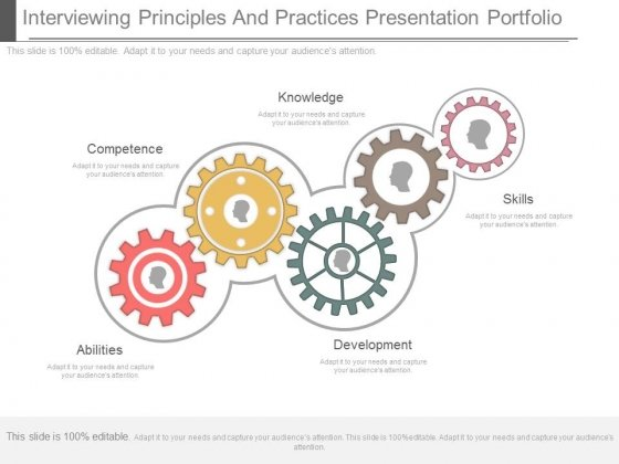 Interviewing Principles And Practices Presentation Portfolio