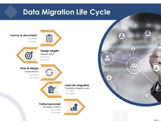 Introducing And Implementing Approaches Within The Business Data Migration Life Cycle Background PDF