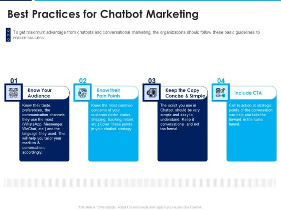Introducing Inbound Marketing For Organization Promotion Best Practices For Chatbot Marketing Introduction PDF
