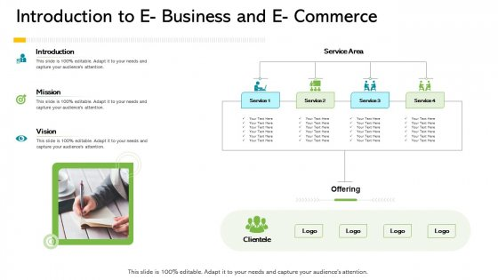 Introduction To E Business And E Commerce Ppt Show Professional PDF