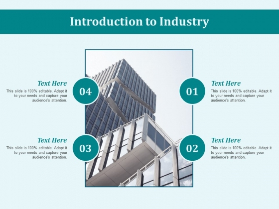 Introduction To Industry Ppt PowerPoint Presentation Icon