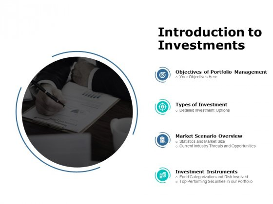 Introduction To Investments Ppt PowerPoint Presentation Model Example File