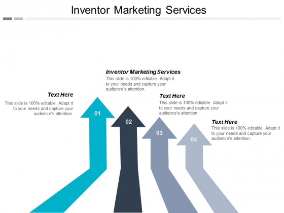 Inventor Marketing Services Ppt PowerPoint Presentation Styles Graphic Images Cpb