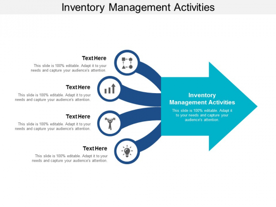 Inventory Management Activities Ppt PowerPoint Presentation Outline Guidelines Cpb