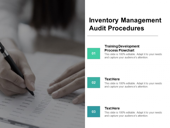 Inventory Management Audit Procedures Ppt PowerPoint Presentation Summary Format Cpb