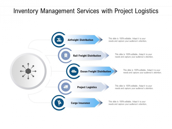 Inventory Management Services With Project Logistics Ppt PowerPoint Presentation Slides Example