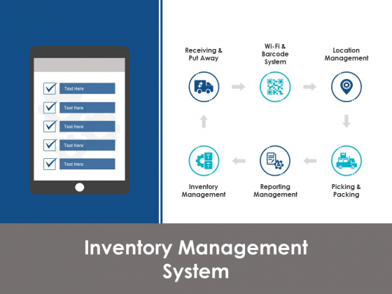 Inventory Management System Ppt PowerPoint Presentation Inspiration Background
