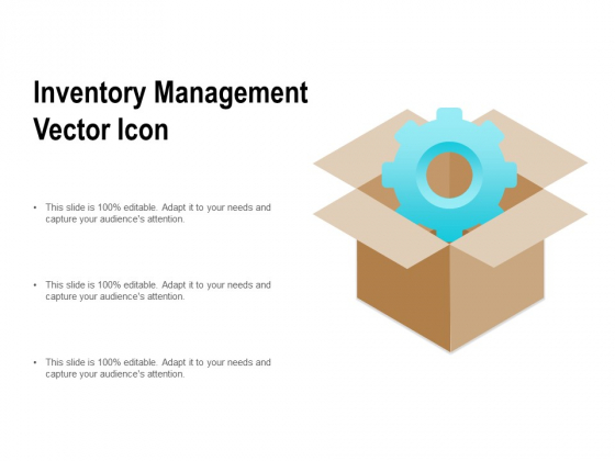 Inventory Management Vector Icon Ppt PowerPoint Presentation Layouts Mockup