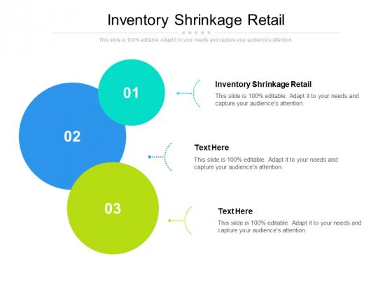 Inventory Shrinkage Retail Ppt PowerPoint Presentation Show Display Cpb