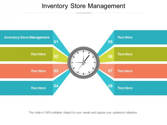 Inventory Store Management Ppt Powerpoint Presentation Outline Professional Cpb