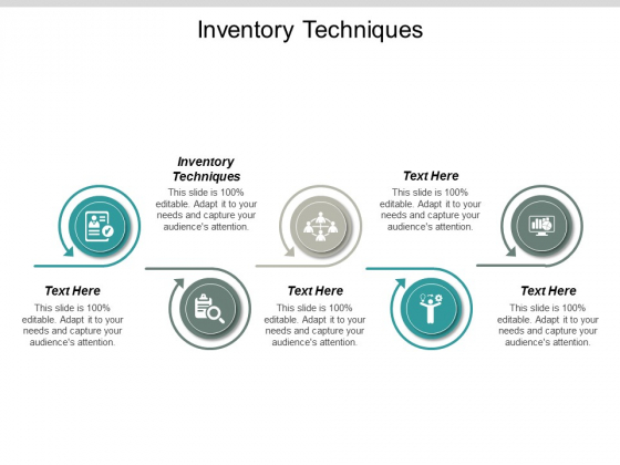 Inventory Techniques Ppt PowerPoint Presentation Summary Shapes Cpb