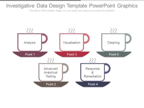 Investigative Data Design Template Powerpoint Graphics