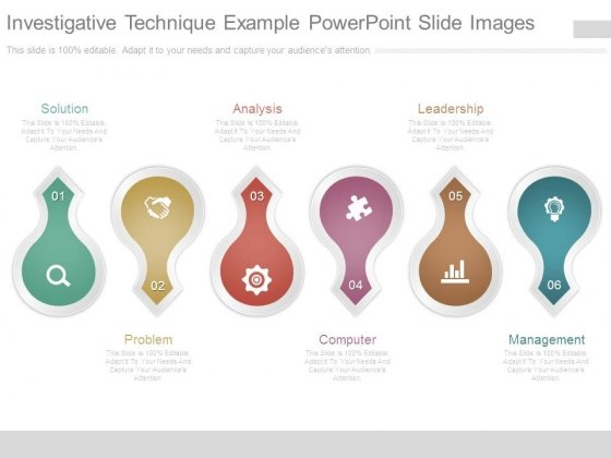 Investigative Technique Example Powerpoint Slide Images