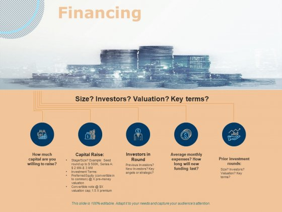 Investing In Start Ups Financing Ppt Pictures Inspiration PDF