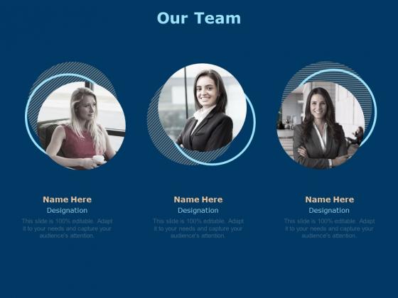 Investing In Start Ups Our Team Management Ppt Slides Mockup PDF