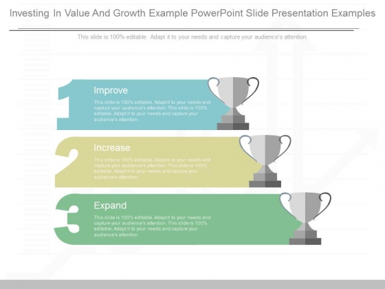 Investing In Value And Growth Example Powerpoint Slide Presentation Examples