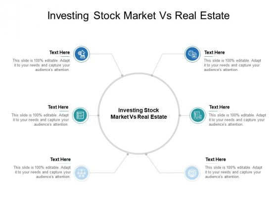 Investing Stock Market Vs Real Estate Ppt PowerPoint Presentation Slides Shapes Cpb