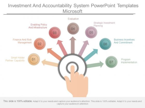 Investment And Accountability System Powerpoint Templates Microsoft