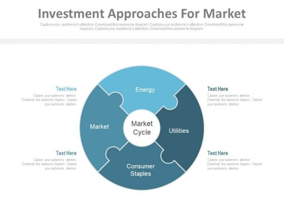 Investment Approaches For Market Ppt Slides