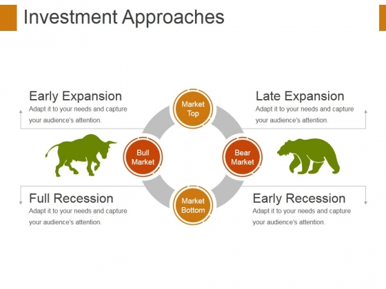 Investment Approaches Template 1 Ppt PowerPoint Presentation Model Visuals