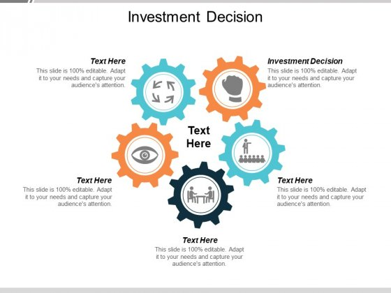 Investment Decision Ppt PowerPoint Presentation Templates Cpb