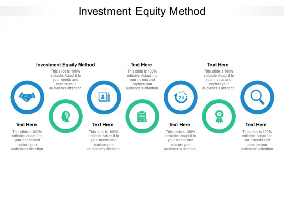 Investment Equity Method Ppt PowerPoint Presentation Professional Graphics Design Cpb Pdf