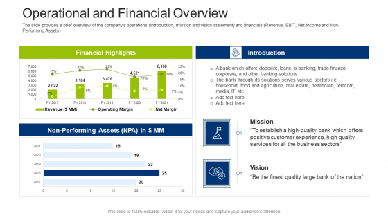 Investment_Fundraising_Pitch_Deck_From_Stock_Market_Operational_And_Financial_Overview_Graphics_PDF_Slide_1