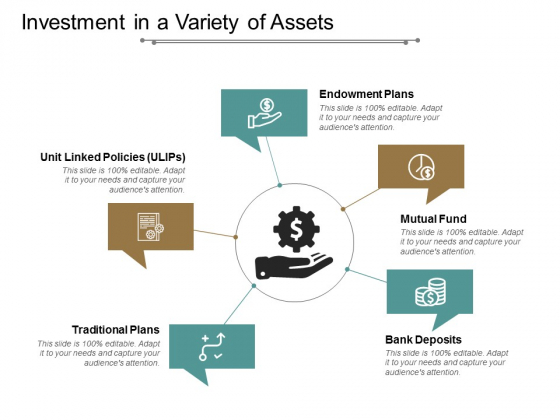 Investment In A Variety Of Assets Ppt PowerPoint Presentation Icon Objects