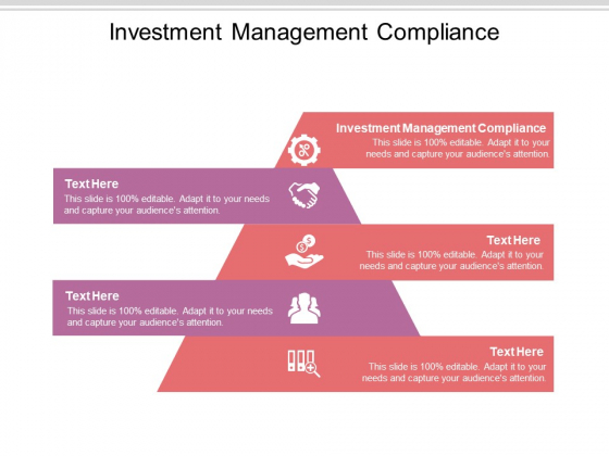 Investment Management Compliance Ppt PowerPoint Presentation Ideas Slide Download Cpb Pdf