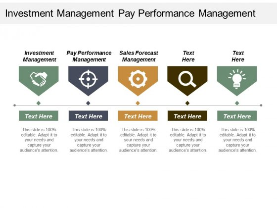 Investment Management Pay Performance Management Sales Forecast Management Ppt PowerPoint Presentation Show Model