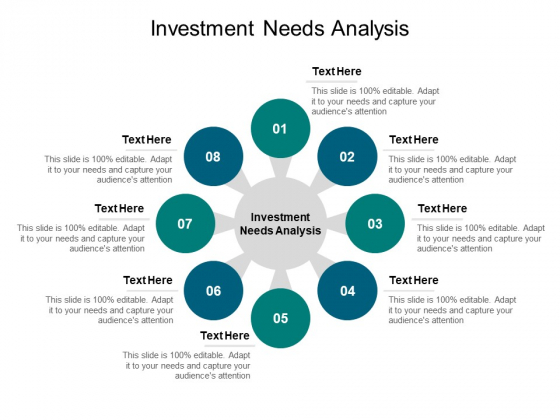 Investment Needs Analysis Ppt PowerPoint Presentation Infographics Graphics Design Cpb Pdf