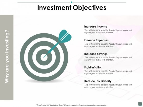Investment Objectives Contribution Ppt PowerPoint Presentation Portfolio Slideshow