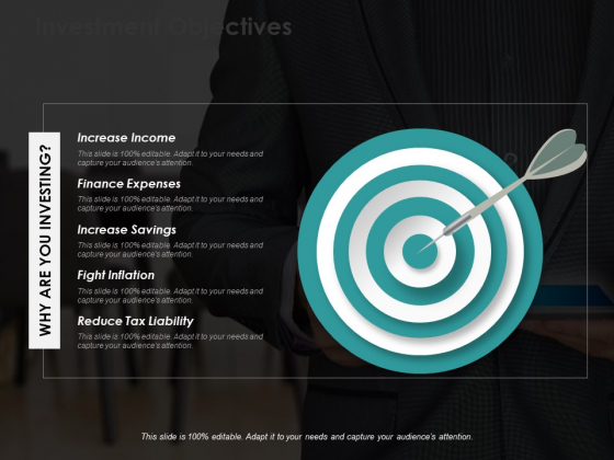 Investment Objectives Ppt Powerpoint Presentation Ideas Example Topics