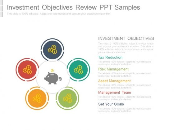Investment Objectives Review Ppt Samples