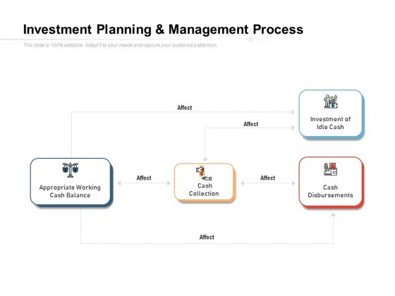 Investment Planning And Management Process Ppt PowerPoint Presentation Styles Show