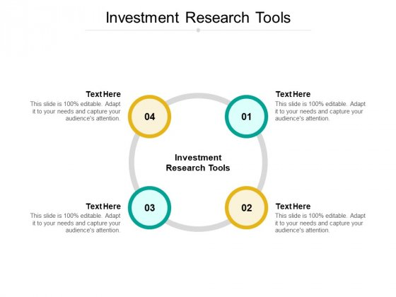 Investment Research Tools Ppt PowerPoint Presentation Pictures Portfolio Cpb